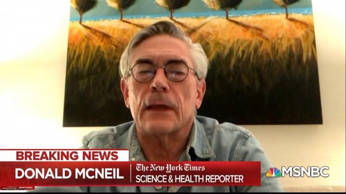 美國紐約時報記者McNeil指,應該動用美軍,中央處理醫療物資的分佈。