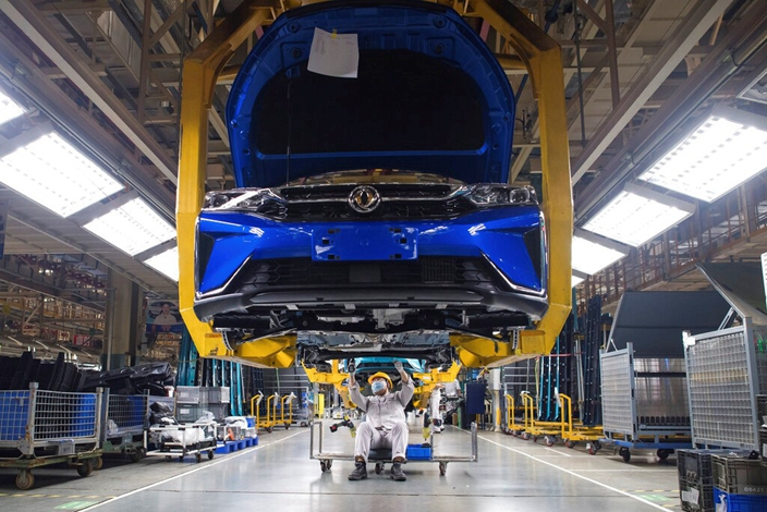 中國工業製造業完備,競爭力不斷提升。新華社圖片