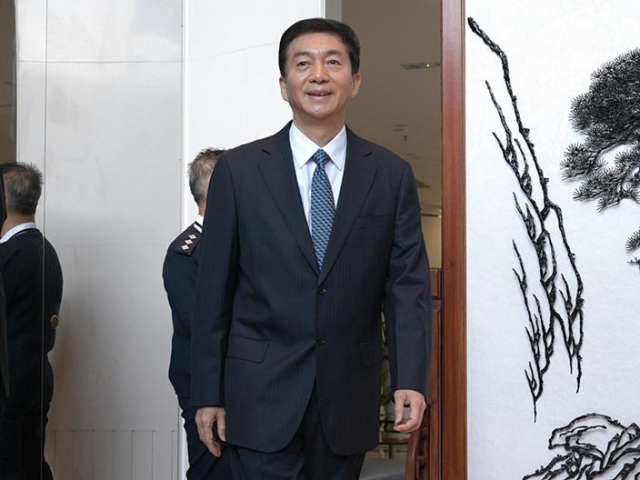中聯辦主任駱惠寧被任命為香港國安顧問。