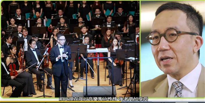 梁卓偉12歳已是鋼琴演奏級。