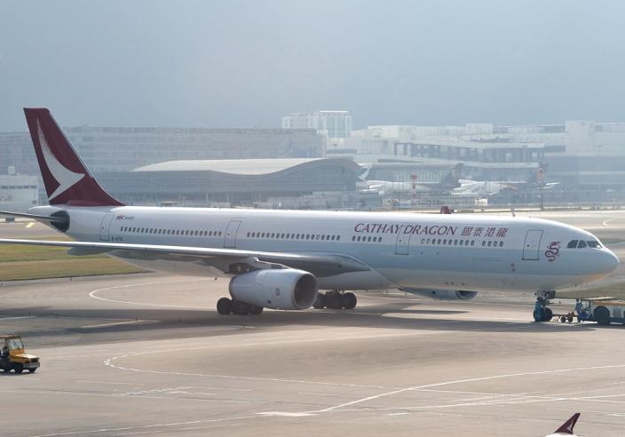 國泰將港龍航空易名為國泰港龍航空後,機隊亦改頭換面。