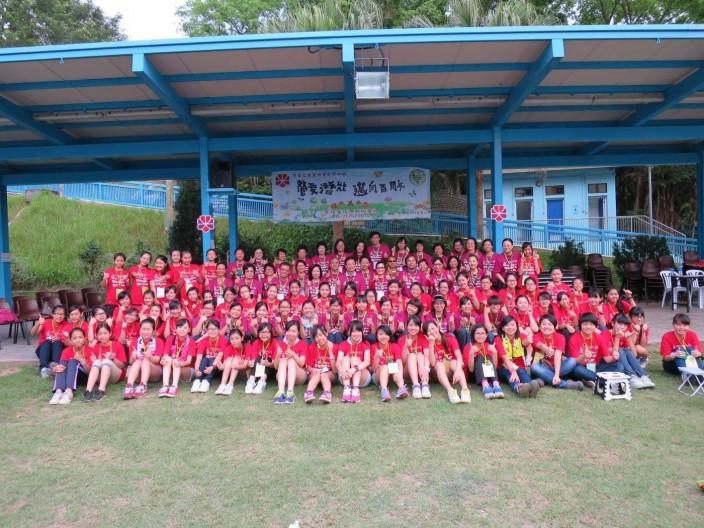 2014年4月在赤柱馬坑懲教所舉辦的一次女童軍活動,印象難忘。