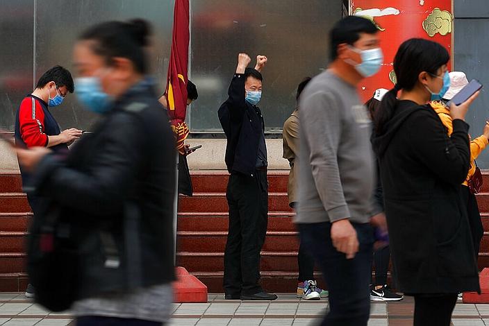 98%的中國受訪者信任中國政府。