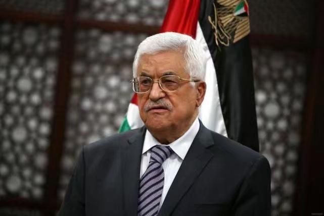 巴勒斯坦總統阿巴斯。