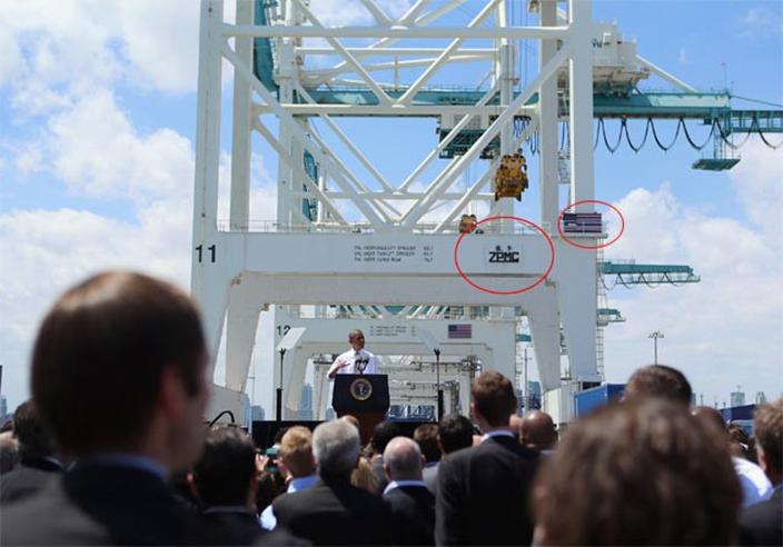 當日邁亞美港的情況。(網上圖片)