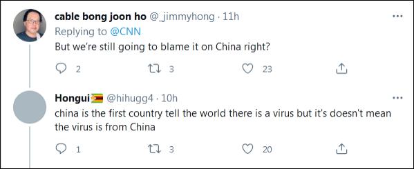 美國網民問:「我們還是要怪中國?」