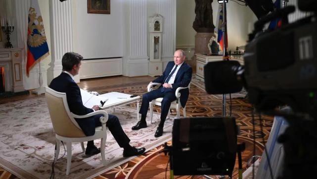普京接受了美國全國廣播公司專訪。