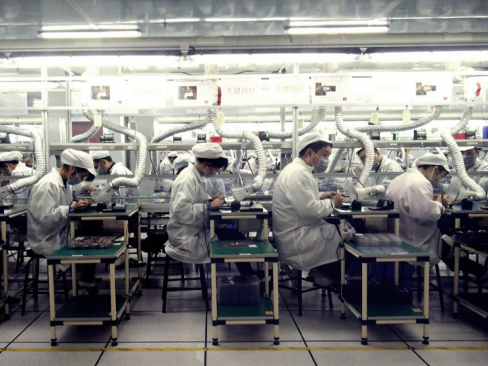 內地工廠不受疫情影響。資料圖片