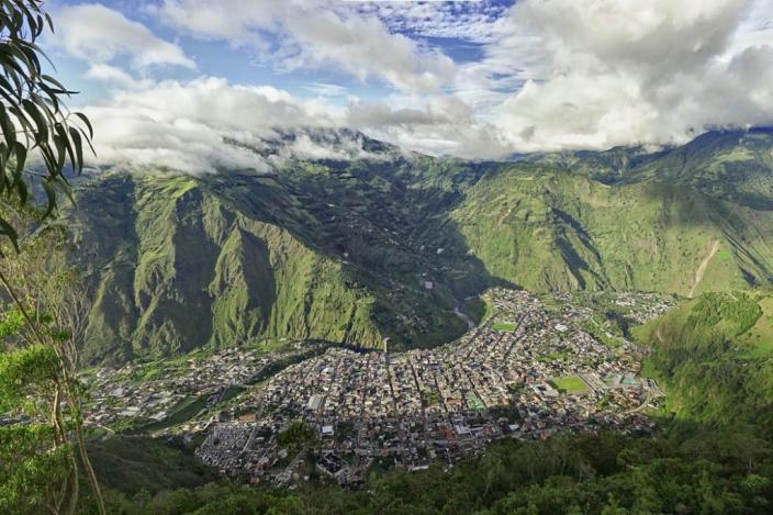 厄瓜多爾安第斯山區域。