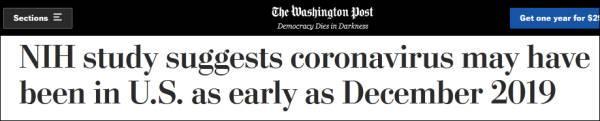 《華盛頓郵報》的報道。