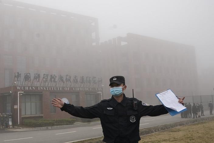 武漢爆發新冠疫情,起源引起多方猜測。(AP圖片)