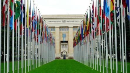 中美駐聯合國日內瓦代表團又再交鋒。