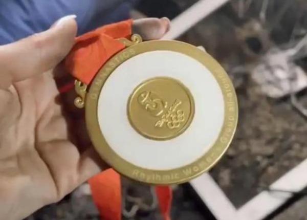 北京奧運會的金牌在火災中完好無損。