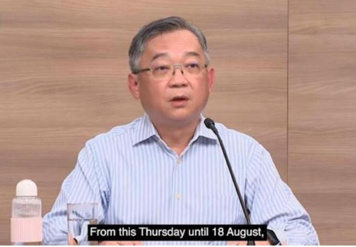 為因應本土疫情升溫,新加坡再度宣布緊縮防疫措施。