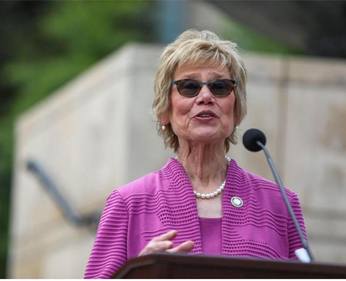 佐治亞州衛生專員Kathleen E. Toomey。
