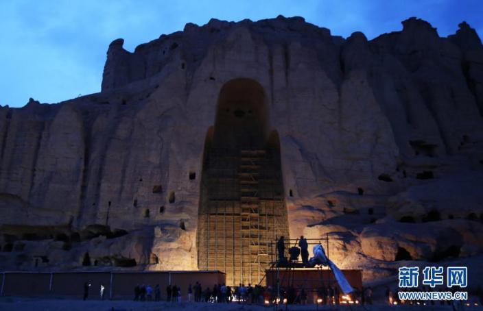 El Buda de Bamiyán solo está vacío Agencia de Noticias Xinhua