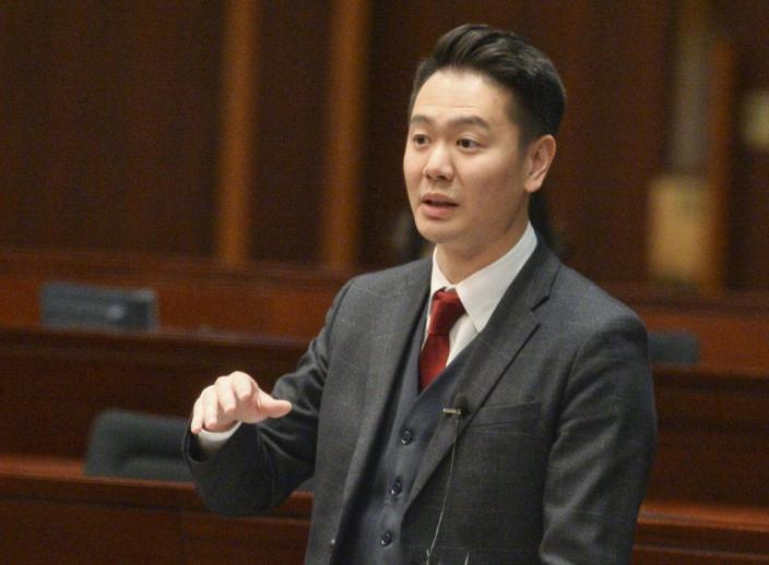 民建聯立法會議員周浩鼎。