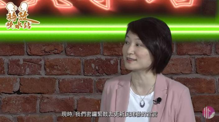 李慧琼透露正密鑼緊鼓更新宣言。