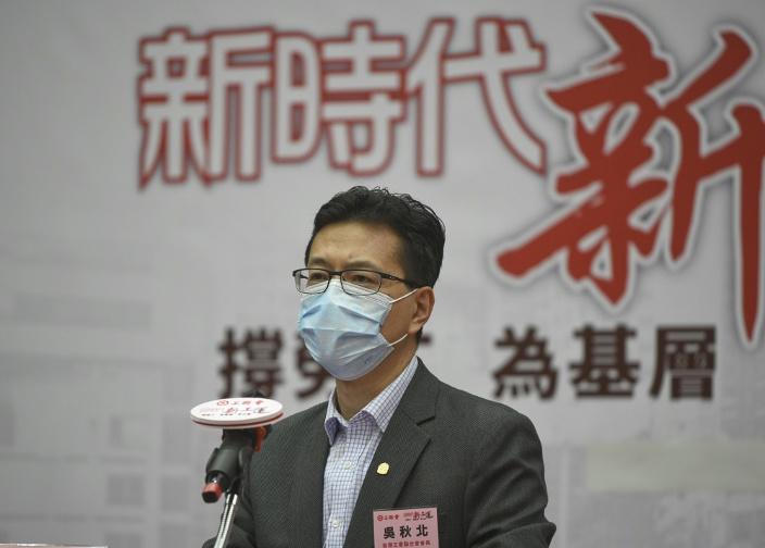 港區全國人大代表、工聯會會長吳秋北。資料圖片