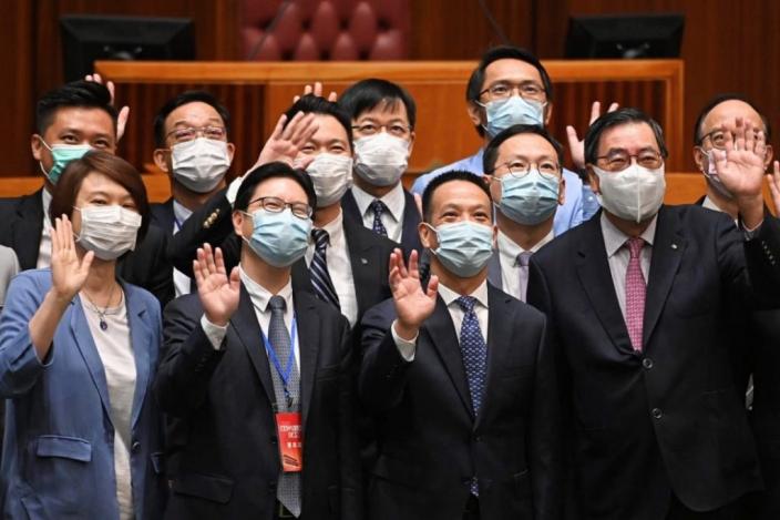 國家「十四五」規劃宣講團到訪立法會。