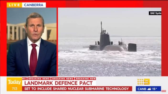 英美將幫助澳洲建造核動力潛艇,抗衡中國。