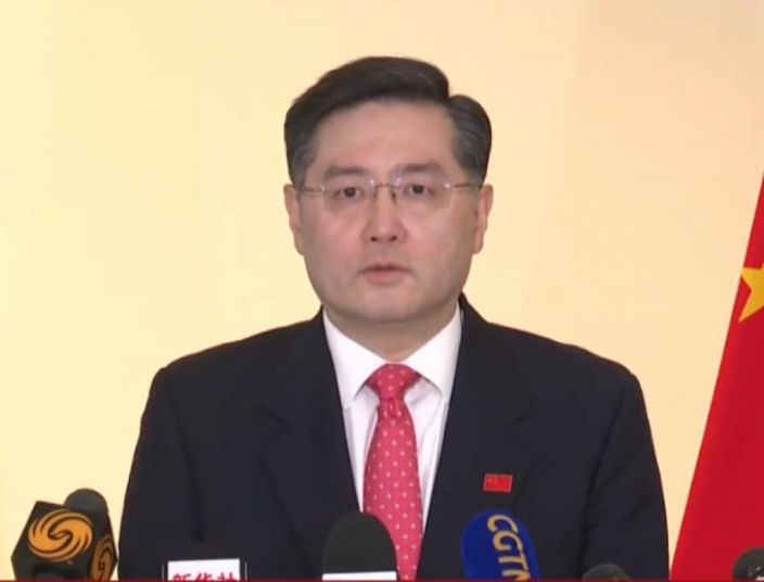 中國駐美國大使秦剛。