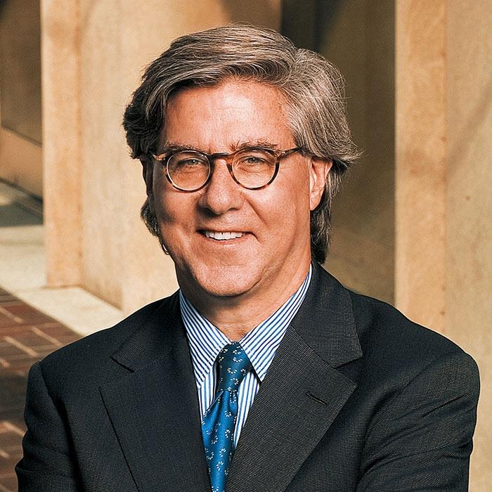 Former Goldman Sachs president John Thornton (John Thornton). Barrick Gold official website picture