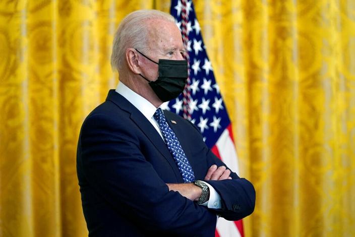 美國人對拜登的怨氣愈來愈深。(AP圖片)