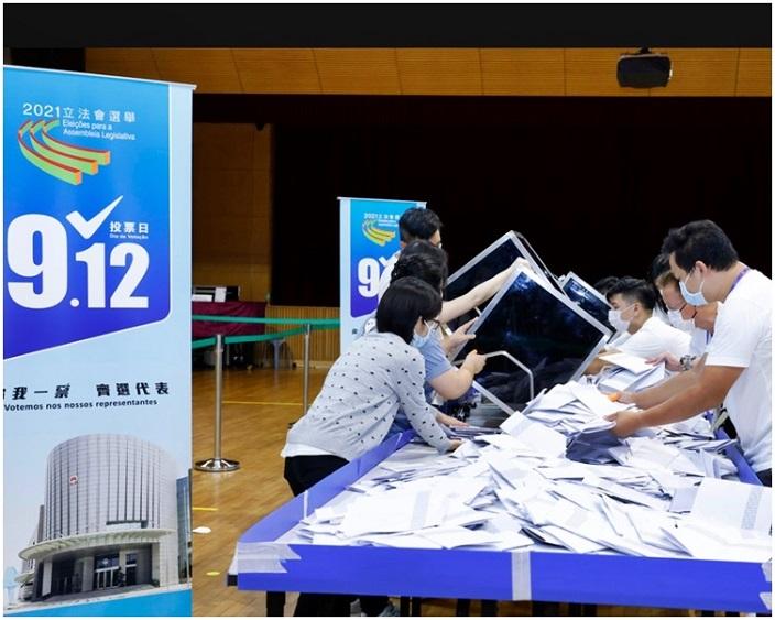 澳門今屆立法會選舉投票率只有42.38%。
