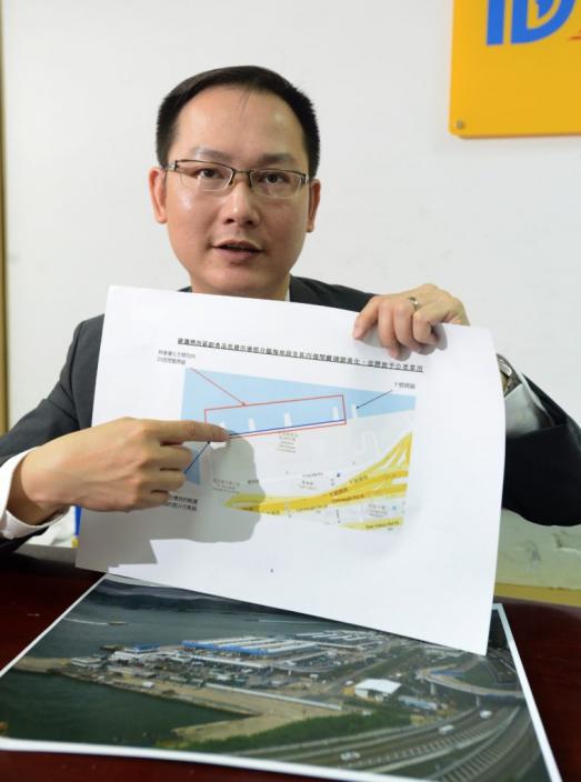 民建聯副主席陳學鋒。