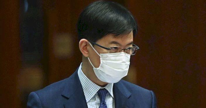 金融界立法會議員陳振英。