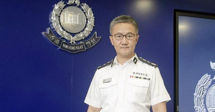 警務處處長蕭澤頤。