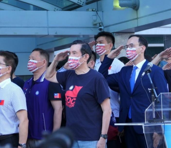 國民黨前主席馬英九。