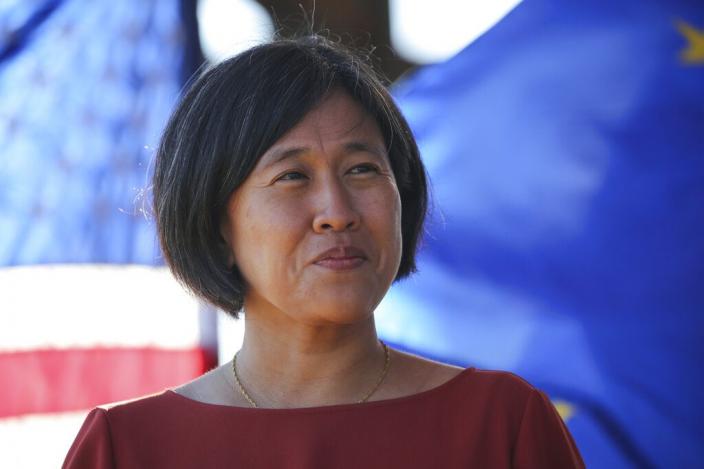 戴琪指出美國現在要尋求和中國「再掛鉤」。