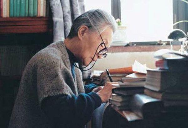 晚年時的楊絳 (網上圖片)