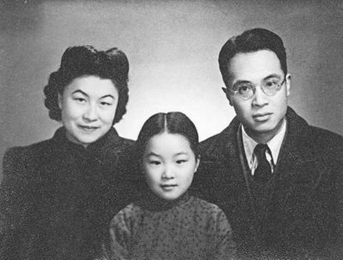 左起:楊絳、錢瑗及錢鍾書 (網上圖片)