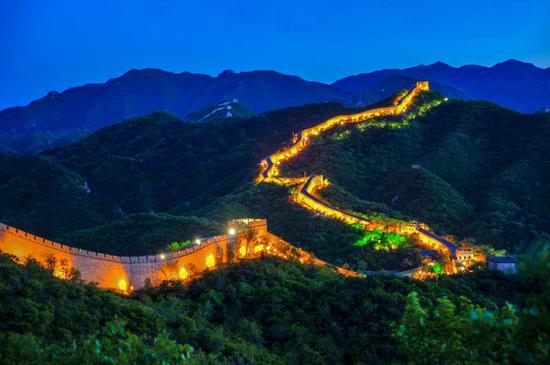 端午三天假期,北京八達嶺將開放夜長城遊覽