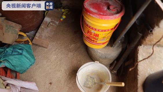 「貪吃象」溜號吃獨食 一缸玉米面吃光光