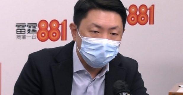 孔繁毅表示,委員會暫時未接獲青少年接種疫苗後的異常反應報告。(商台提供)