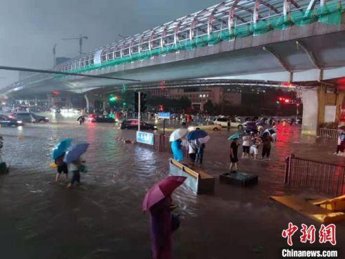 河南繼續暴雨紅色預警 本次強降水或到22日結束