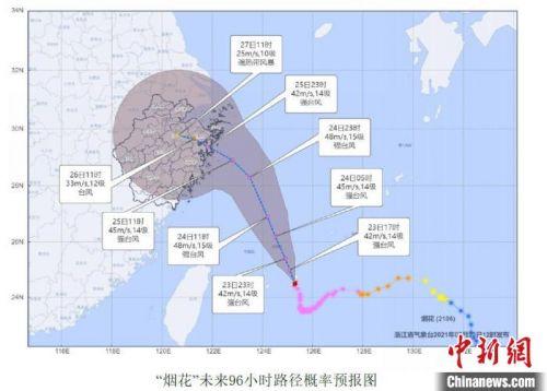 「煙花」逼近:浙江已預排預泄83個西湖水量