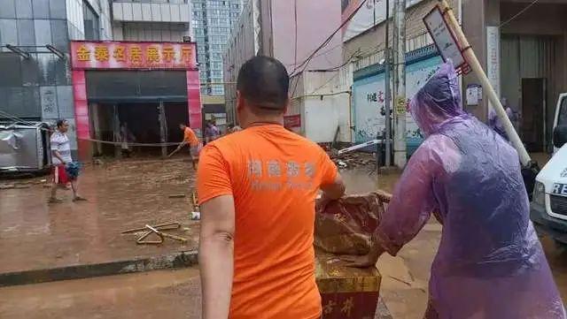 河南鞏義:當暴雨灌入丘陵地帶