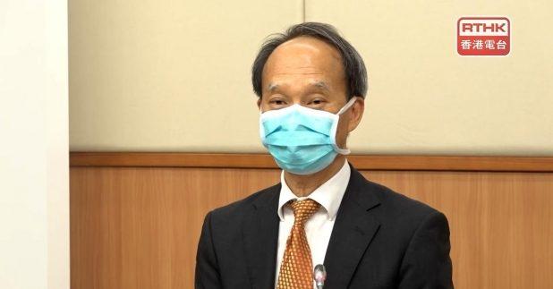 劉宇隆稱,市民是否需補充接種第三劑疫苗,要視乎3種情況,包括科學數據、市民的疫苗接種率。(孔令輝攝)