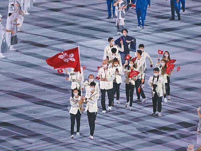 播電子遊戲音樂 205代表團興奮進場 東奧開幕禮盡顯東瀛風