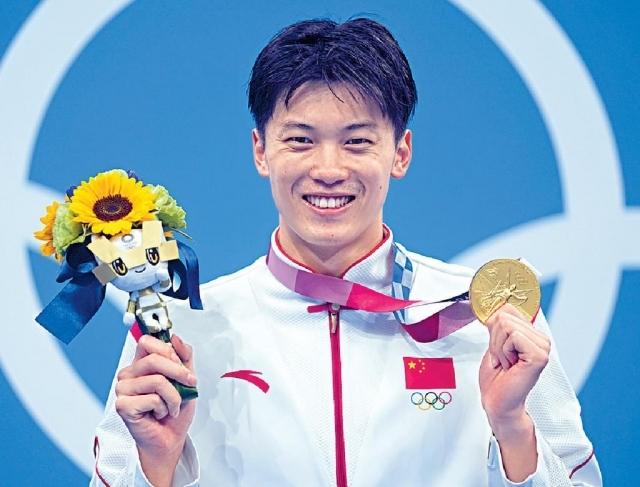 國泳老將200米混合泳首摘金