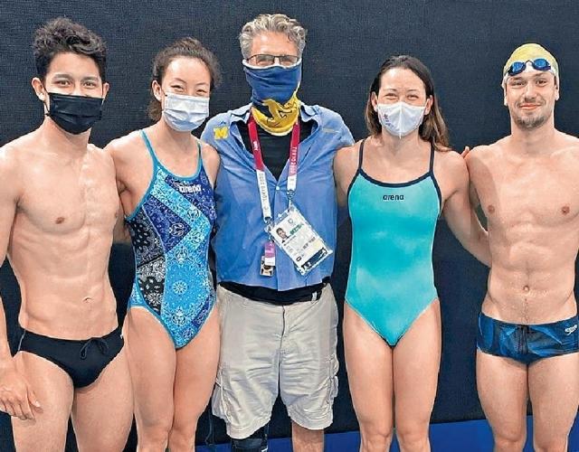 Executive日記——游泳健將前度也有出戰東奧  何詩蓓疑單身 港男仍有希望
