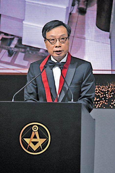 香港建造商會第七十一屆理事會隆重就職 林鄭月娥女士親臨主禮  林健榮測量師接任會長