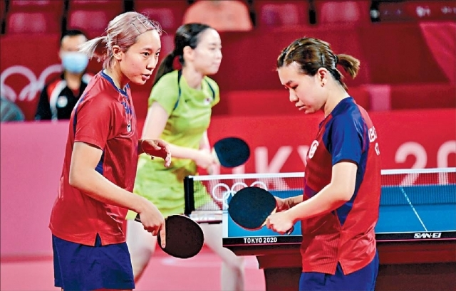 港女乒團不敵日本隊  明戰中國或德國爭銅牌