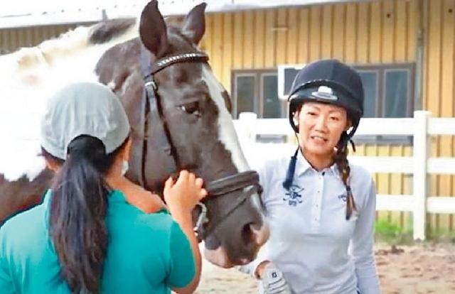江碧蕙用心跑好每場馬