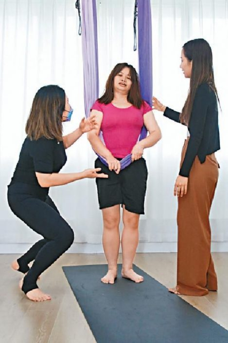 入行要減肥   做瑜伽辛苦到爆粗  ATV阿儀自稱靚  所以爆紅